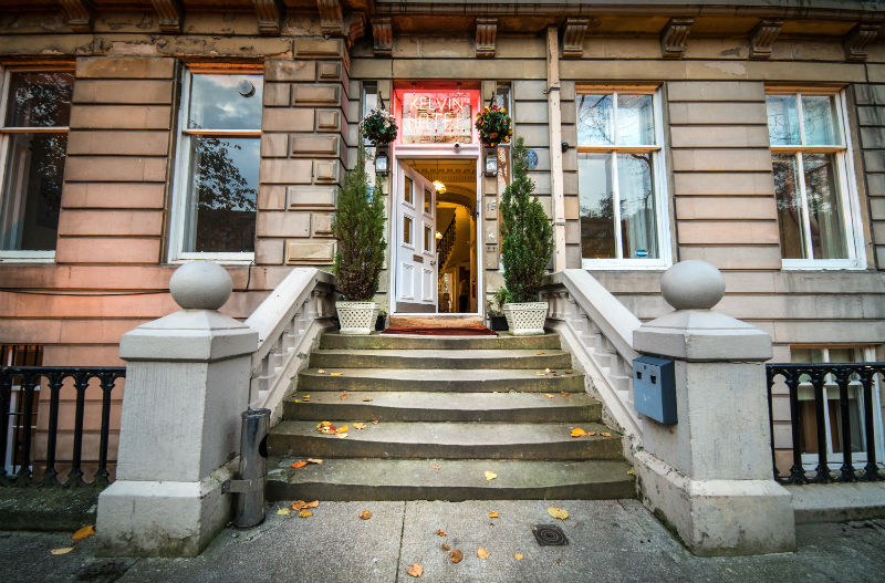 Bed and breakfast glasgow hotels glasgow west end for Beds glasgow