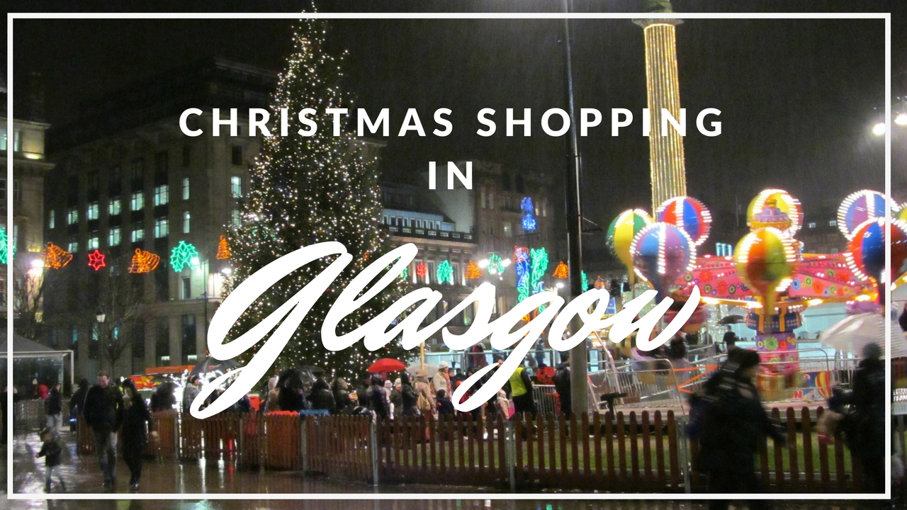 Christmas Shopping In Glasgow Kelvin Hotel Glasow